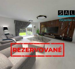 EXKLUZÍVNE- Novostavba 4 izbový dom