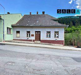 Pôvodný rodinný dom  v historickej časti mesta Gelnica o celkovej rozlohe 1029 m2.
