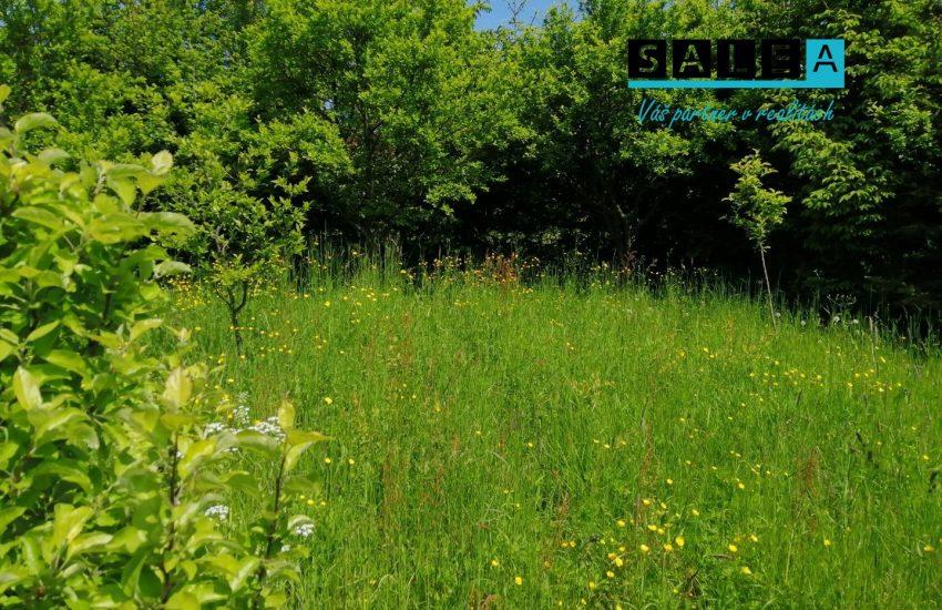 Krásny pozemok v obci Chvojnica o celkovej výmere 1.633 m2.