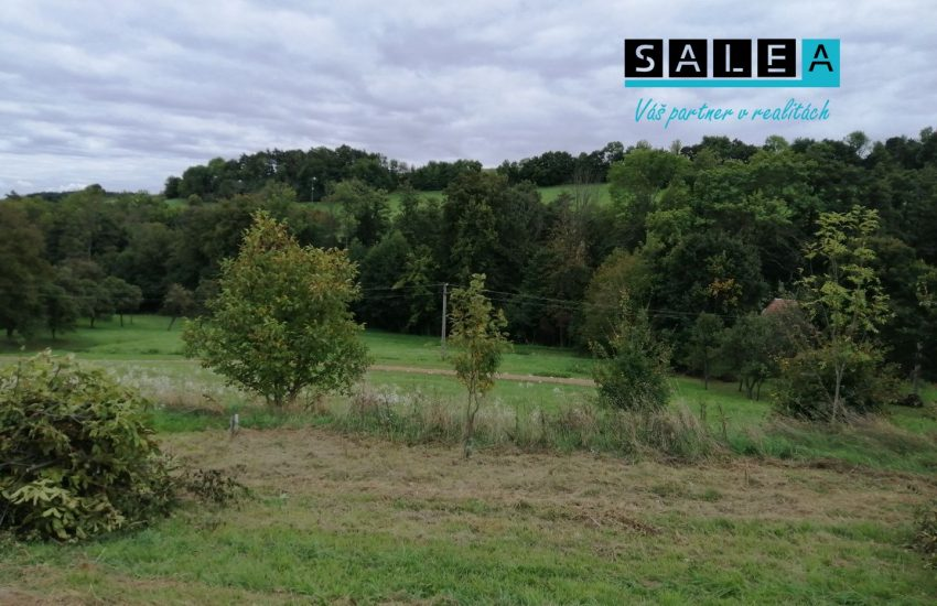 Veľký pozemok v katastrálnom území obce Jablonka o výmere 2.647 m2