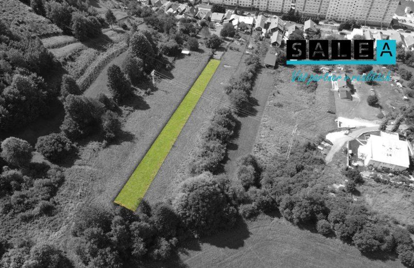 Slnečný pozemok o celkovej rozlohe 1439 m2 v Krompachoch
