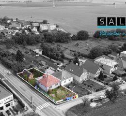 Starší 3 - izbový rodinný dom v obci Šterusy o výmere 661 m2